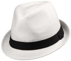 0b764322ef5 Classic Short Brim Fedora White With 1