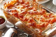 ボリューミーで見た目も豪華なので、おもてなしメニューにも使えます!ナスとひき肉の重ね焼き/中島 和代/杉本 亜希子のレシピ。[洋食/焼きもの、オーブン料理]2013.04.08公開のレシピです。