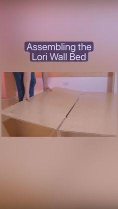 Best Murphy Bed, Murphy Bed Ikea, Lori Walls, Bed Wall, Master Bedroom Design, Minimalist Bedroom, Sofa Bed, Bed Frame, Sleeper Couch
