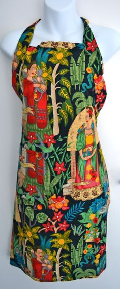 Frida Kahlo's Garden apron©Mexico Import Arts (Australia)