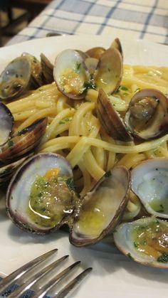 Pasta with Clams, Palermo, Sicily Il Sapore di Mare, Palermo, Sicily  #palermo #sicilia #sicily