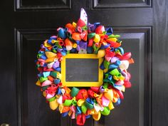 Birthday or Celebration Wreath Comes with by ShopSewSouthern, $35.00