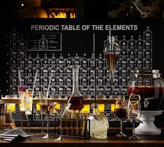 I must have this in my life!!!!! Periodic Table | Pottery Barn