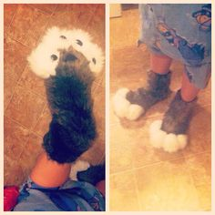 A lovely pair of warm wolf paws! Wolf Paw, Daughter, Pairs, Artist, Artists, Daughters
