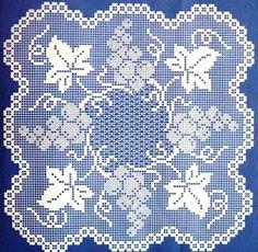 crochet em revista: revista «Rendas de crochet»