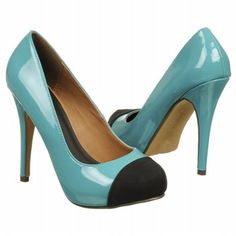Michael Antonio Women's Louie Shoes (Teal/Black) $46.55