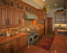 Rustic Kitchen Design, Pictures, Remodel, Decor and Ideas - page 9
