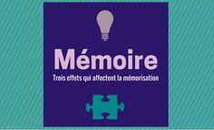 Connaître ces 3 effets permet de les utiliser à notre avantage pour mieux mémoriser et apprendre
