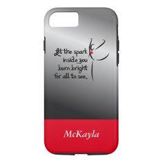 Heartfelt-Let the Spark Dance iPhone 7 Case
