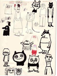 Delphine Durand: dessins