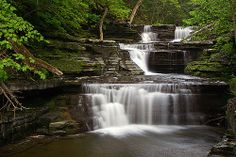 waterfalls ithaca | Buttermilk Falls, Ithaca NY | Vacation Ideas
