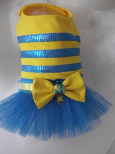 Flounder Dog Halloween Costume SMALL DOGS ONLY by WoofsandRuffles