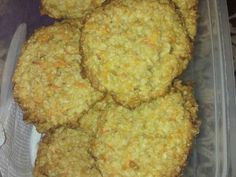 Galletas de avena y zanahoria #sinharina 😋 Receta de Marisol - Cookpad Cupcake Cookies, Cupcakes, Cauliflower, Recipies, Muffin, Yummy Food, Breakfast, Vegetarian, Gluten Free Sweets
