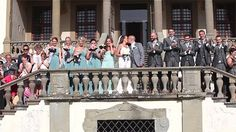 Artimino Tuscany wedding. A perfect Irish wedding, a wonderful and unforgettable event at Villa La Ferdinanda in Artimino, Tuscany. Wedding video trailer