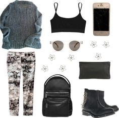 """""""Sin título #195"""" by handfuloffashion ❤ liked on Polyvore"""