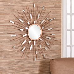 Corrigan Studio Starburst Wall Mirror