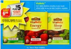 Better than FREE Nature Made VitaMelts at CVS starting on 11/17