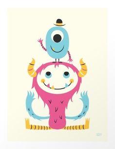 Cute Monsters - Greg Abbott