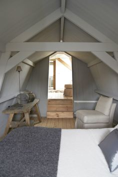 always thought a cool place in an attic would be so nice.