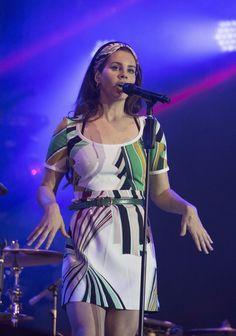 LANA DEL REY — Lana Del Rey performing at BBC Radio 1's Big...