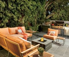 Giada De Laurentiis  Outdoor Living Room  Arch Digest