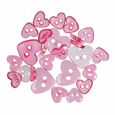 15 x Assorted Sizes Floral Spots Dots Wooden Craft Buttons Sewing Needlecrafts