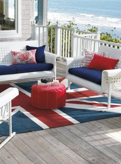 We love Red, White and Blue!