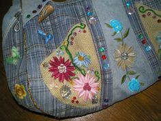 """Умей-ка!: Джинсовая сумка - модная """"штучка"""" своими руками!"""