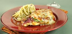 Grilled Chicken Breast with Spinach au Gratin Pleasing Everyone, Grilled Chicken, Lasagna, Food Inspiration, Spinach, Grilling, Spaghetti, Turkey, Dinner