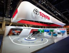 Toyota booth at CES 2014 by Stuart Fingerhut, Las Vegas – Nevada