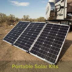 Portable Solar Panels & LED Lighting for RV's, Camping, Hunting, and Disaster Kits outdoorx4