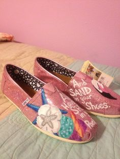 Custom Toms Shoes by SaturdaysInTheSouth on Etsy, $125.00