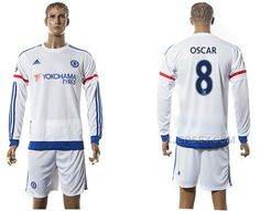 http://www.xjersey.com/201516-chelsea-8-oscar-away-long-sleeve-jersey.html 2015-16 CHELSEA 8 OSCAR AWAY LONG SLEEVE JERSEY Only $35.00 , Free Shipping!