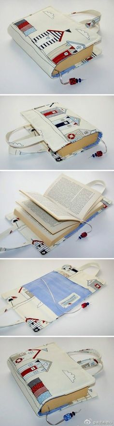 awesome book holder..wonder if I couldn't adapt this to make a kindle holder with straps...: