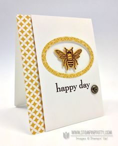 http://www.stampinpretty.com/2013/06/stampin-up-backyard-basics-bee.html, backyard basics, happy day, framelits, stampin' up!