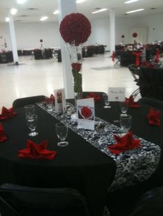 9 Best Red, black, and white parties images  Red wedding