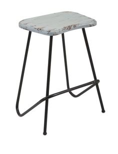 "Fairview Stool 22.75""""h x 17.25""""w x 13.5"""""