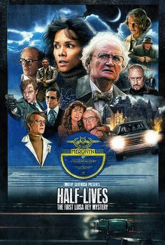 """Alternative Movie Posters: """"Half Lives"""" by Paul Shipper $65.00"""