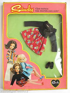 Sindy COCKTEL MINT IN BOX | Spanish Florido | Vintage Pedigree Sindy Doll