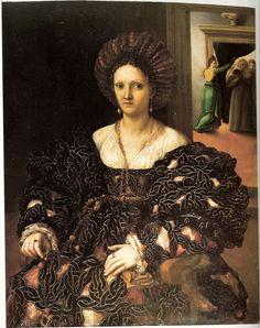 1531, Presumed Portrait of Margherita Paleologo, Duchess of Mantua