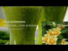 Suco Elixir da juventude e beleza, Ora pro nobis, Ora-pro-nóbis, receita - YouTube Ora Pro Nobis, Detox, Nova, Low Carb, Vegan, Vegetables, Youtube, Nutrition Tips, Healthy Skin