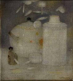Jan Mankes - Japanse vaasjes. 1911