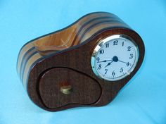 Single Drawer Band Saw Box Clock by SawBoxes on Etsy
