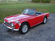 TR250 British Sports Cars, Classic Sports Cars, Classic Cars, British Car, Tr 4, Sweet Cars, Small Cars, Car Car, Hot Cars