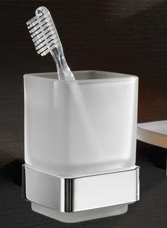 Modern Bath Lounge Wall Lounted Toothbrush Holder | Zuri Furniture