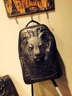 Lion backpack Animal Backpacks, Feel Good, Hate, Lion, People, Home Decor, Leo, Lions, Feeling Great Quotes