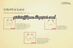 Ritual de aplicação do Gel de Limpeza Sublime & Suave da L'Oréal Paris