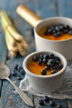 Sweet Gula: Leite Creme de Erva Príncipe com Mirtilos