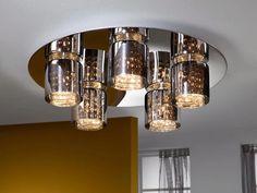 Plafones que revolucionan los techos, iluminan y decoran en cualquier ambiente. Más en www.virginia-esber.es
