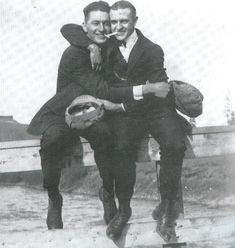"""""""Bosom Buddies: A Photo History of Male Affection"""" - fascinating long read with tons of vintage photographs."""